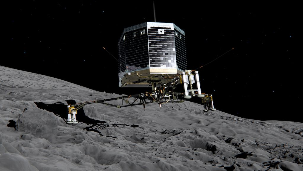 Engineering of 2014: Philae probe