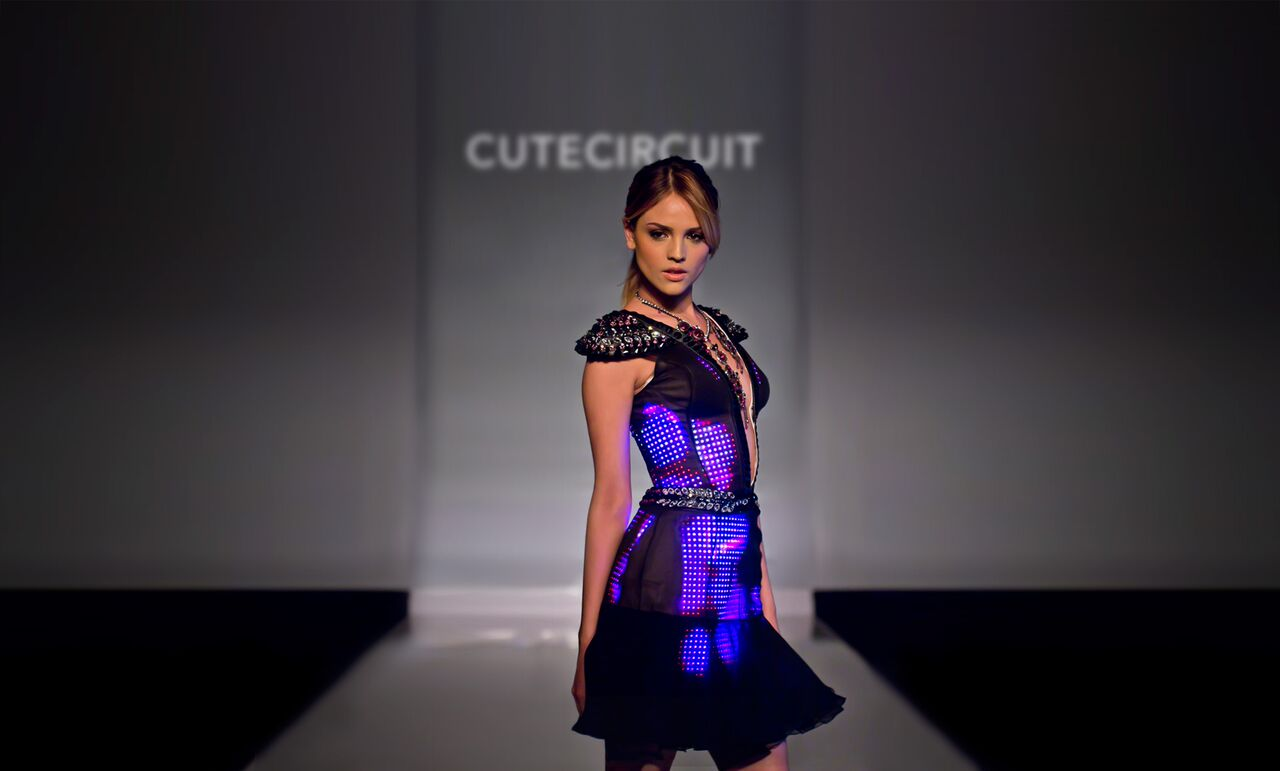 Cutecircuit dress