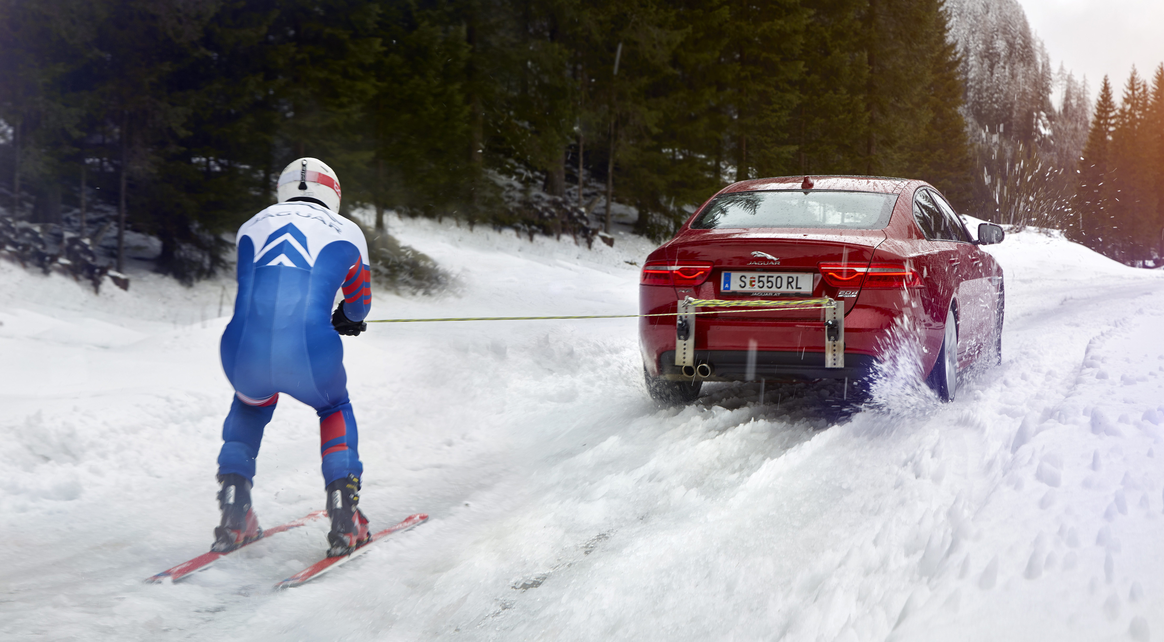 jaguar land rover and the jet-powered man - create the future