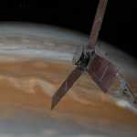 Space probe 'Juno' nears destination in Jupiter's orbit