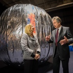 Bigelow inflate expandable space habitat aboard the ISS
