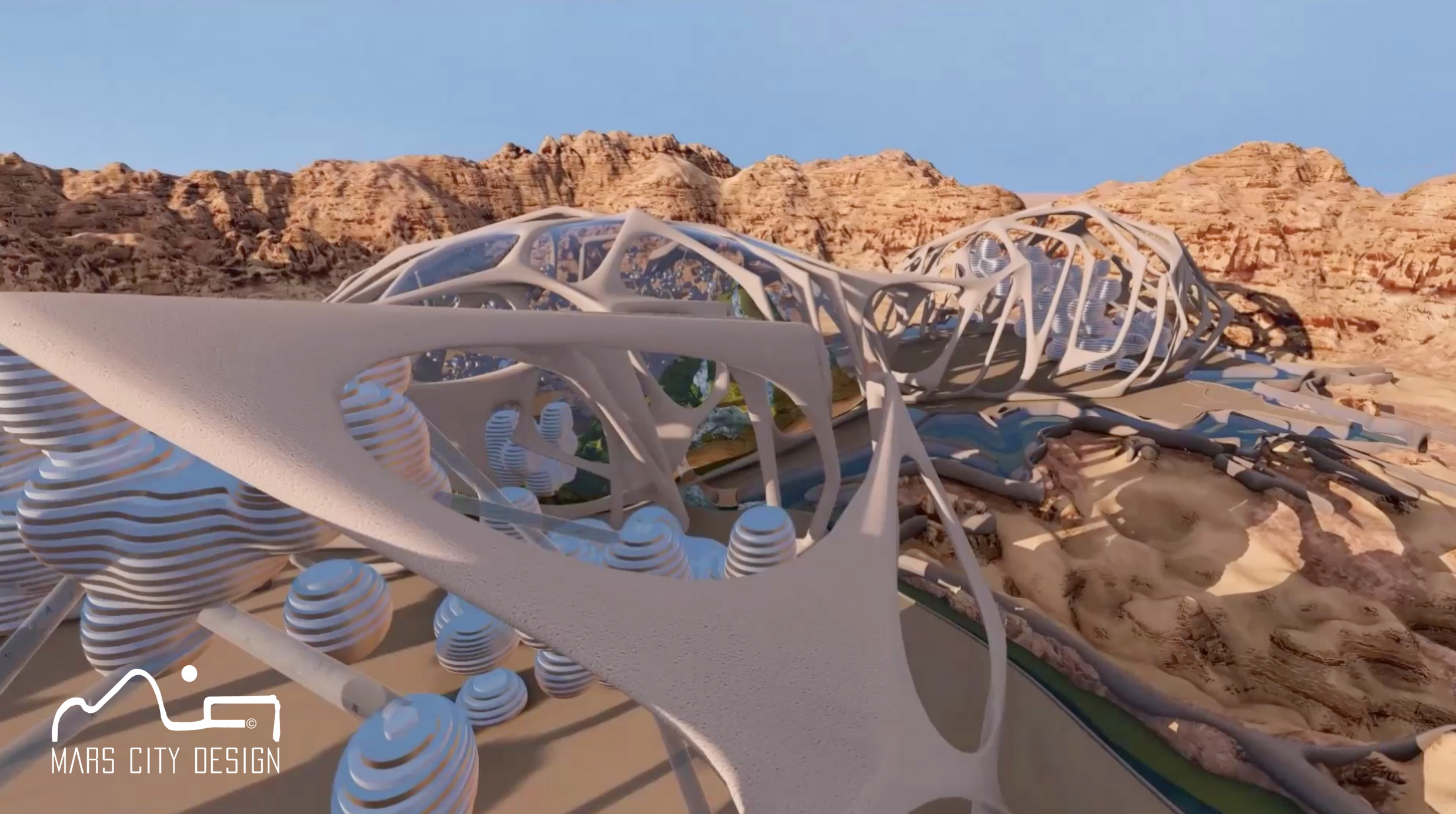 'Neuro'; a finalist in the Mars City Design competition