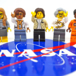 Women of NASA LEGO set blasts off