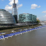 Cycle downriver on the Thames Deckway