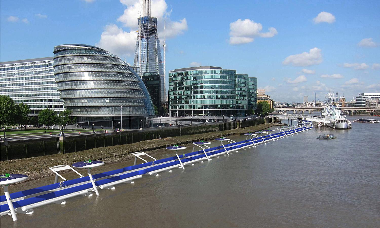 Copyright 2010 River Cycleway Consortium Ltd. Early concept design Anna Hill & David Nixon 2010.