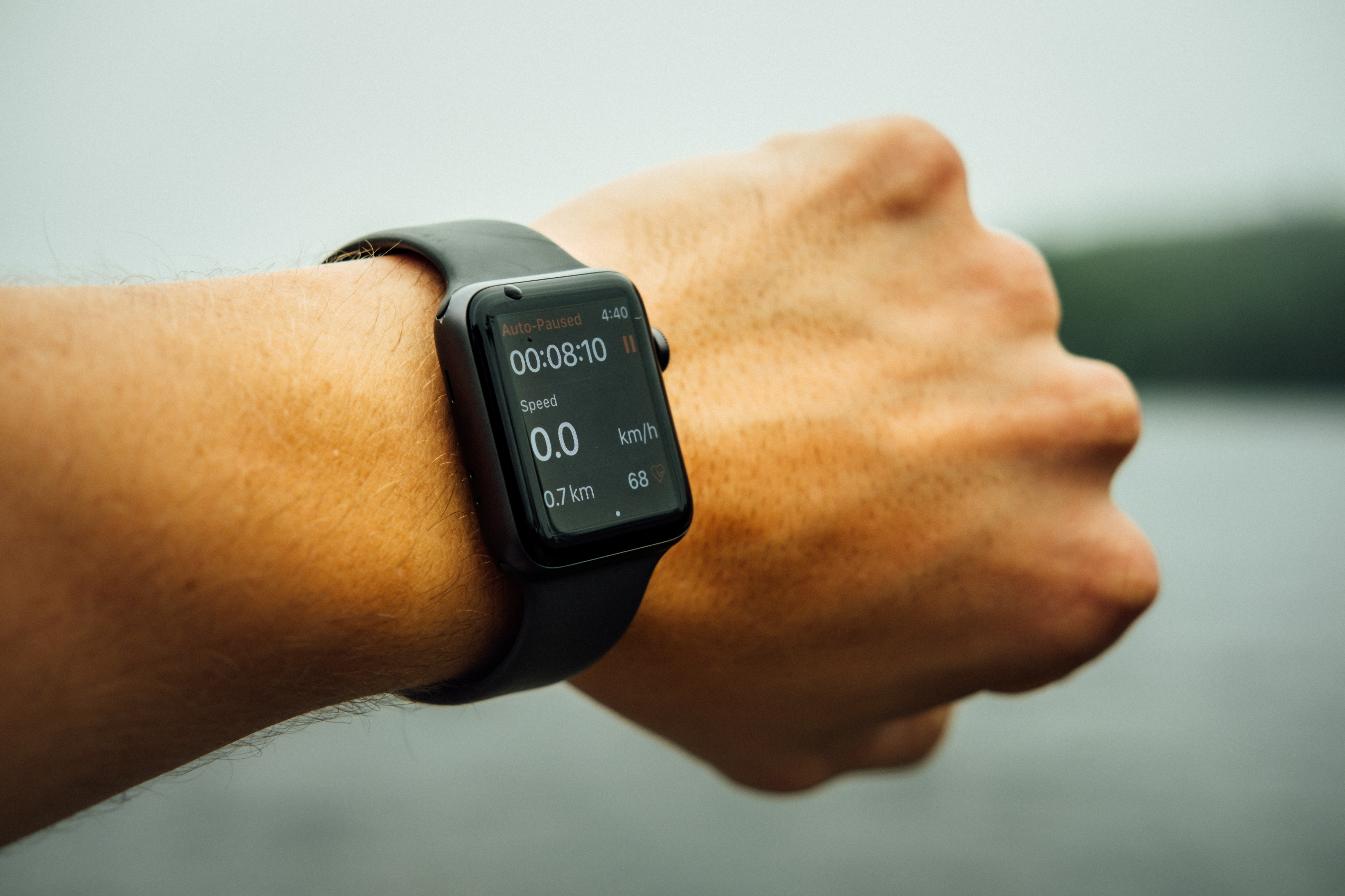 Image of an Apple Watch on a person's wrist