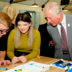 Inspiring the next generation with HRH The Prince of Wales