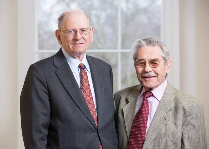 Bob Kahn and Louis Pouzin 2013 QE Prize winners