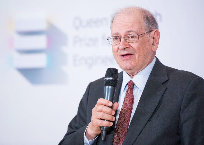 Bob Kahn at the 2013 QE Prize announcement