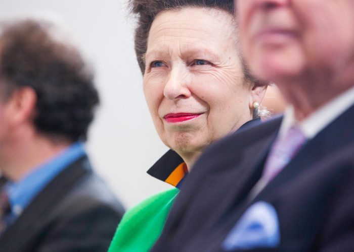 HRH The Princess Royal at the 2013 QE Prize announcement