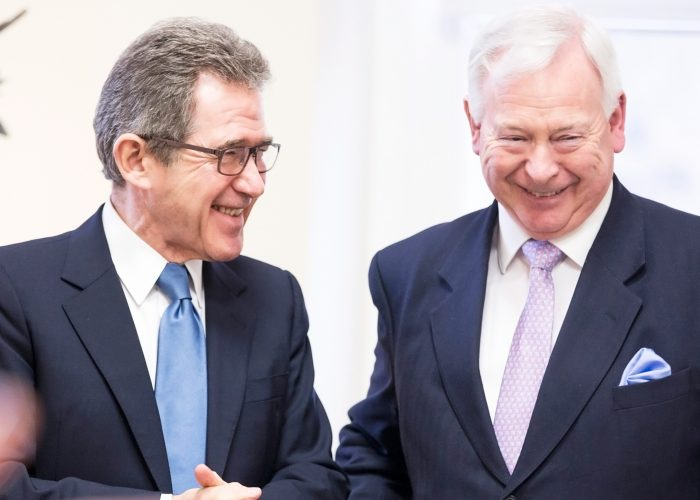 Lord Browne and Sir John Parker
