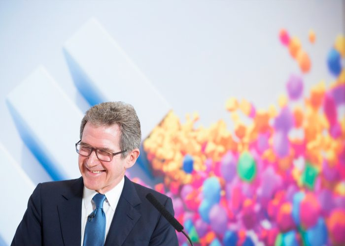 Lord Browne at the 2013 QE Prize winner announcement