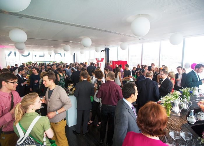 Guests at the 2013 QE Prize celebration at the Tate Modern