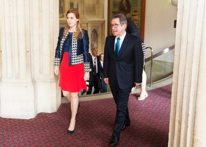 Lord Browne and HRH Princess Beatrice of York