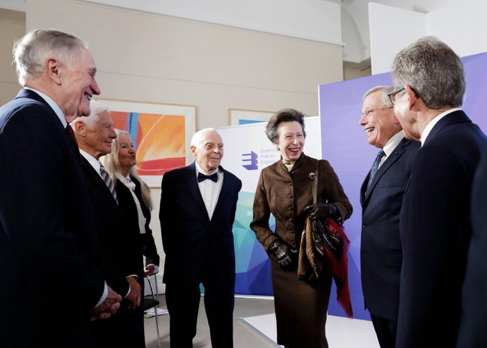 HRH The Princess Royal meets the QEPrize winners at the 2019 QEPrize Winner Announcement