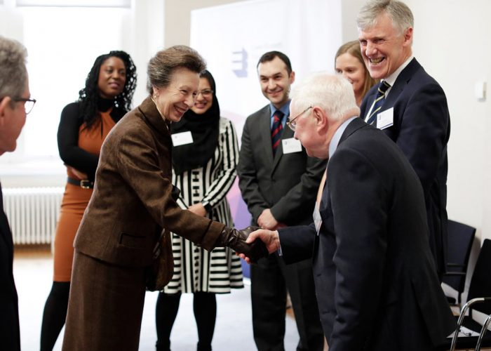 HRH The Princess Royal meets guests at the 2019 QEPrize Winner Announcement