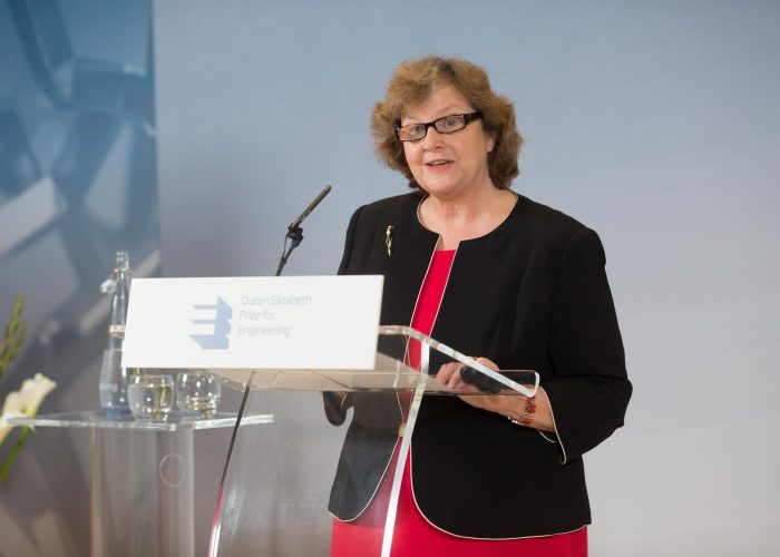 Dame Ann Dowling at the 2015 QE Prize Presentation