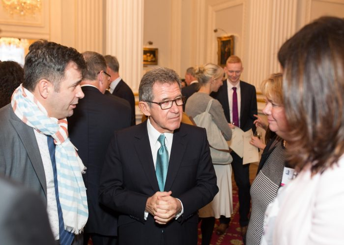 Juergen Maier Lord Browne and guests at the 2015 QEPrize Presentation