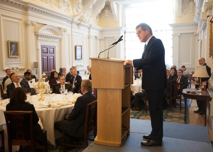 Lord Browne speaks at Mansion House, QEPrize Presentation 2015
