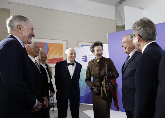 HRH The Princess Royal with the 2019 QEPrize Winners
