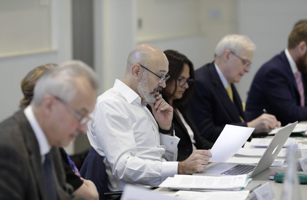 QEPrize judges read and discuss nominations