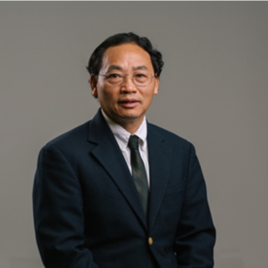Zhifeng Ren faces the camera in front of a plain neutral background.